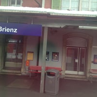 Photo taken at Brienz–Rothorn Bahn by Ismail S. on 12/17/2012