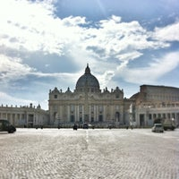 Photo taken at Saint Peter's Square by André d. on 6/4/2013