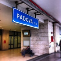 Photo taken at Padua Railway Station (QPA) by André d. on 1/21/2013