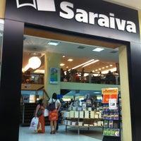 Photo taken at Saraiva MegaStore by Claudio M. on 8/7/2013