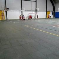 Photo taken at Basket Club Elouges by Sebastien U. on 7/14/2014