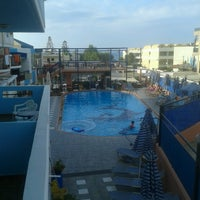 Photo taken at Epimenidis Hotel by Giota K. on 8/18/2014