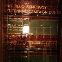 4/14/2013 tarihinde Keitaro H.ziyaretçi tarafından Copley Symphony Hall'de çekilen fotoğraf