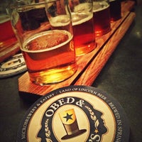 Photo taken at Obed & Isaac's Microbrewery and Eatery by Matt G. on 12/27/2012