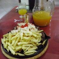 Photo taken at Restaurante e Churrascaria Bom Jesus by Denner F. on 10/16/2013
