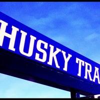 Photo taken at Husky Outside Track by Larry M. on 5/4/2013
