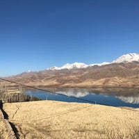 Photo taken at Taleghan Dam | سد طالقان by Mar Y. on 1/6/2017