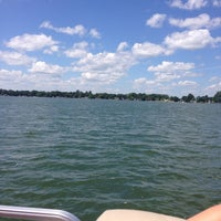 Photo taken at Lake Minnewaska by Reggie L. on 7/9/2014