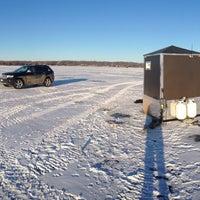 Photo taken at Lake Minnewaska by Reggie L. on 12/28/2014