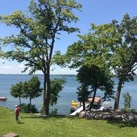 Photo taken at Lake Minnewaska by Reggie L. on 7/4/2017