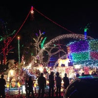 Photo taken at Christmas Light Display (christmasdisplay.org) by Mildred A. on 12/21/2014