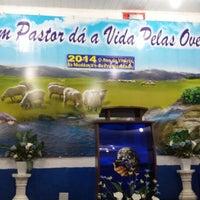 Photo taken at Igreja Mundial do Poder de Deus by Sidnei A. on 2/26/2014