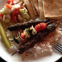 Photo taken at Zabak's Mediterranean Cuisine by Helen T. on 4/21/2015