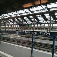 Photo taken at Paris Lyon Railway Station by Matt J. on 7/1/2014