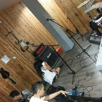 Photo taken at D'Play Music Studio-Digital Recording by Hafid A. on 11/18/2013