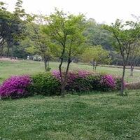 Photo taken at 율동공원 놀이터 by Jiyeon H. on 4/19/2014