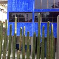 Photo taken at Museo Casa Estudio Diego Rivera y Frida Kahlo by Tarsicio S. on 4/25/2013