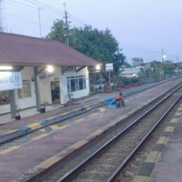Photo taken at Stasiun Kedunggalar by Satrio E. on 6/10/2015