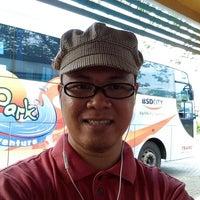 Photo taken at Terminal Feeder Busway Trans BSD by Rori Roar S. on 8/31/2013