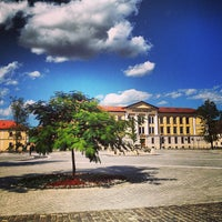 "Photo taken at Universitatea ""1 Decembrie 1918"" Alba Iulia by Sorina C. on 7/22/2013"