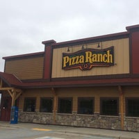 Photo taken at Pizza Ranch by Scott B. on 8/25/2014