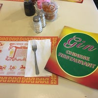 Photo taken at Gin Chinese Restaurant by Scott B. on 11/25/2017