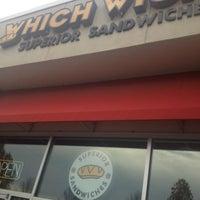 Photo taken at Which Wich Superior Sandwiches by Scott B. on 10/23/2012