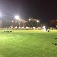 Photo taken at نادي النصر الاماراتي by Sawaafyyy S. on 11/6/2013