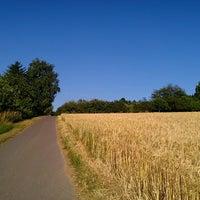 Photo taken at Wanderweg Schweinshag by Jeannette H. on 6/22/2014
