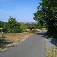 Photo taken at Wanderweg Schweinshag by Jeannette H. on 6/19/2014