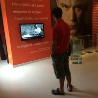 Photo taken at Jòzsef Attila emlèkmùzeum by Krisztina S. on 7/10/2014