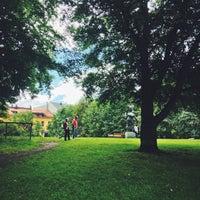 Photo taken at Uranienborgparken by Ramy on 6/29/2014