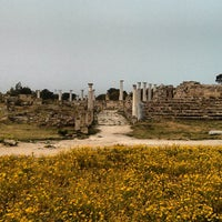 Photo taken at Salamis Ruins by Demet on 3/31/2013