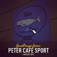 Foto tirada no(a) Peter Café Sport por Jose Carlos S. em 8/4/2013