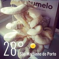 Photo taken at São Martinho do Porto by Jose Carlos S. on 6/29/2013