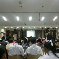 Photo taken at หอประชุมนวรัตน์ by Sandy S. on 2/24/2015