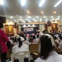 Photo taken at หอประชุมนวรัตน์ by Sandy S. on 7/31/2014