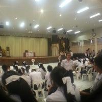 Photo taken at หอประชุมนวรัตน์ by Sandy S. on 5/11/2015