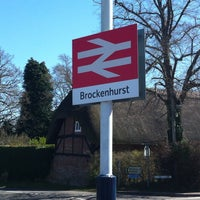 Photo taken at Brockenhurst Railway Station (BCU) by Thomas F. on 4/20/2013