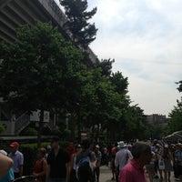 Photo taken at Stade Roland Garros by Martin R. on 6/8/2013