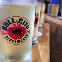 Photo taken at Bull City Ciderworks by Josh T. on 6/4/2015