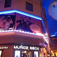 Photo taken at Teatro Muñoz Seca by Lola C. on 3/20/2014
