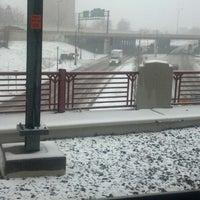 Photo taken at Franklin Avenue LRT Station by Tim L. on 4/18/2013