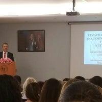 Photo taken at Konferans Salonu - Eczacılık Fakültesi by Tuncay S. on 5/14/2018
