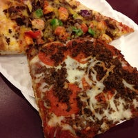 Photo taken at Antonio's Pizza by the Slice by Cherry S. on 4/14/2014