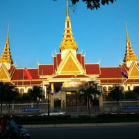 Photo taken at រដ្ឋសភាជាតិ | National Assembly by いおりん on 9/20/2015