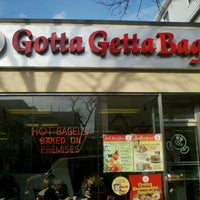 Photo taken at Gotta Getta Bagel by Peter D. on 12/7/2013