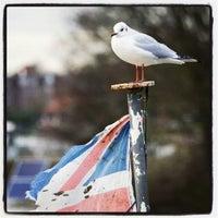 Photo taken at Teddington Lock by Fun-Tomasz S. on 1/24/2014