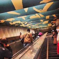 Photo taken at MBTA Porter Square Station by Jim on 12/23/2012