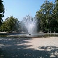 Photo taken at Warandepark / Parc de Bruxelles by Manuel M. on 7/9/2013